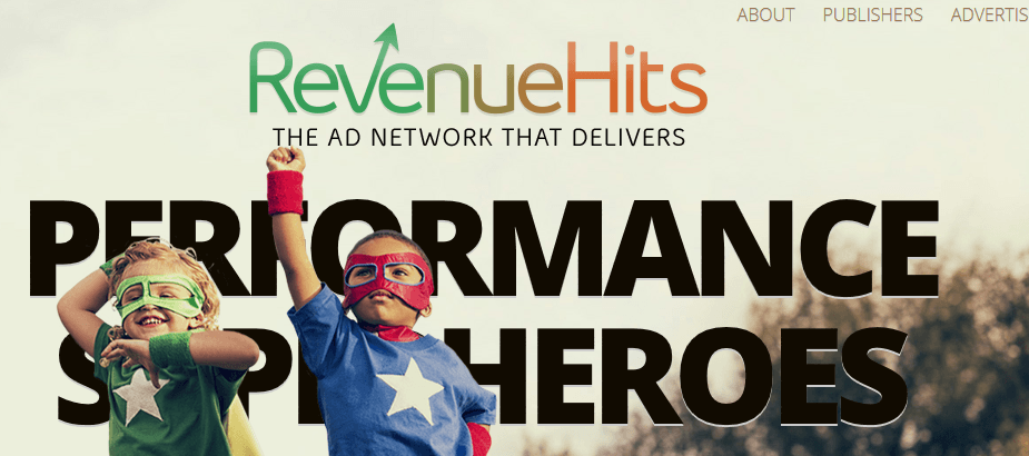 RevenueHits - Google Adsense Alternatives