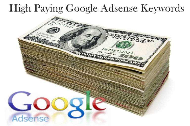 Top 500+ High Paying Google Adsense Keywords 2017