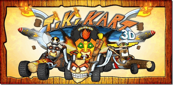 tiki kart android game