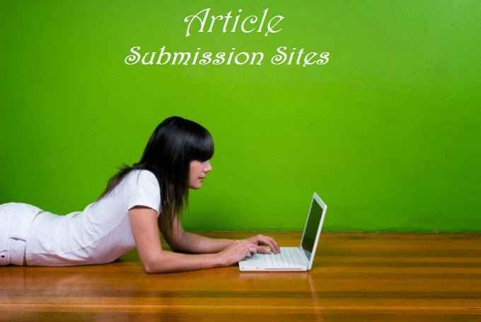 Top 20 DoFollow High PR Article Submission Sites For SEO Backlinks