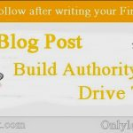 5 Steps to Follow after writing your First Blog Post