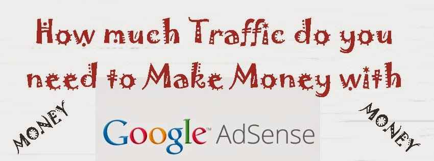 How much Traffic do you need to Make Money with Adsense