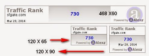 alexa traffic widget