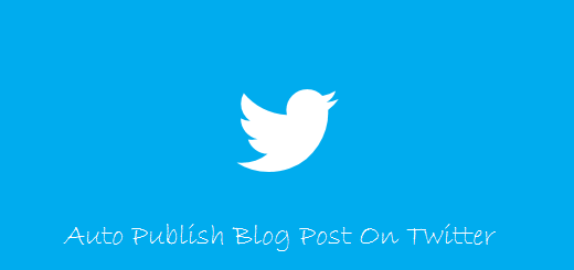blogpost autopublish on twitter