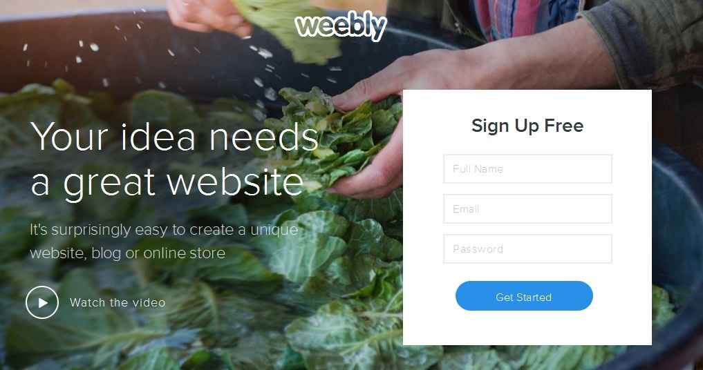 Create a Website For Free (Sign Up)