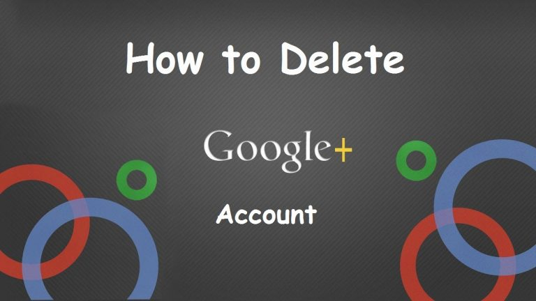 How to Delete Your Google+ Account