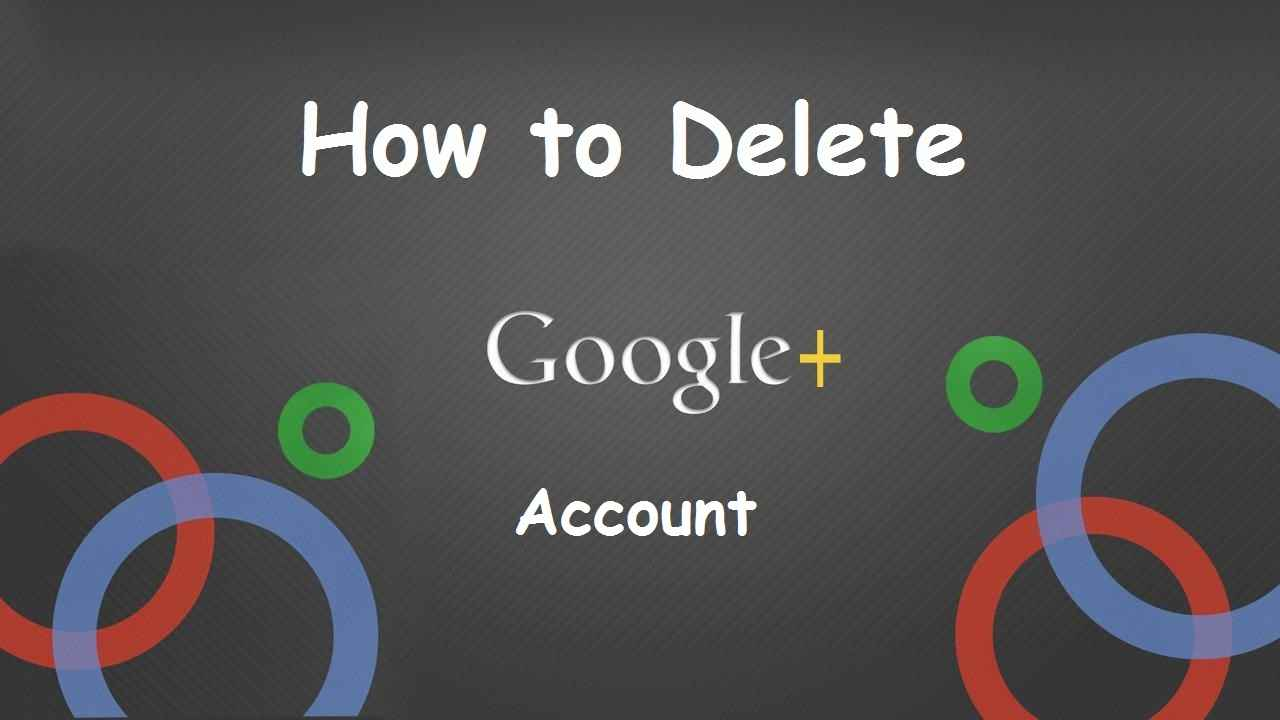 Delete Your Google+ Account