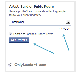 How To Create Without or Blank Name Facebook Fans Page - OnlyLoudest