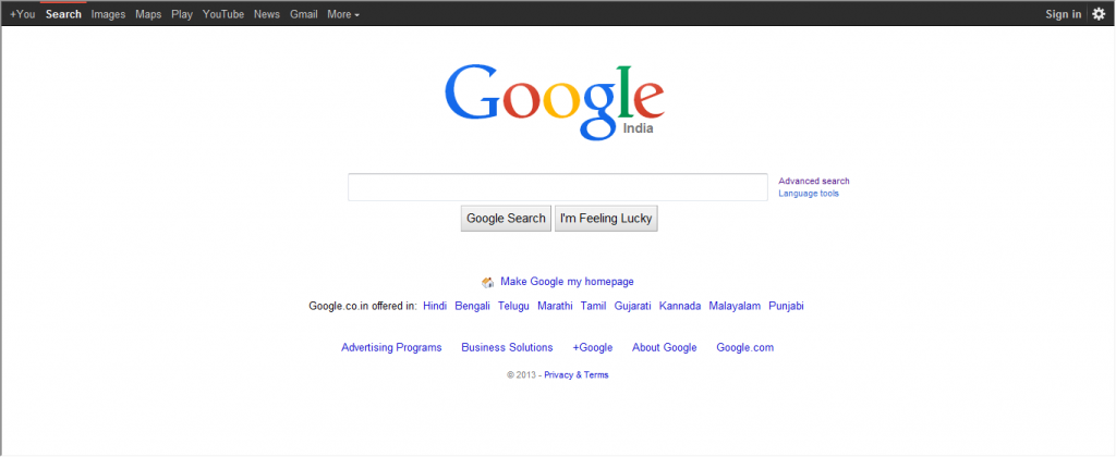 Google Deliberately Showing Older Versions Of Its Search Page to encourage browser updates