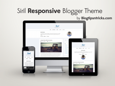 Siril-blogger-theme