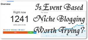 Is Event Based Niche Blogging Worth Trying (in Future)?