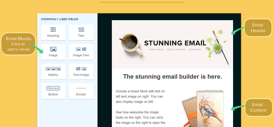 Create superb mails with MailGet