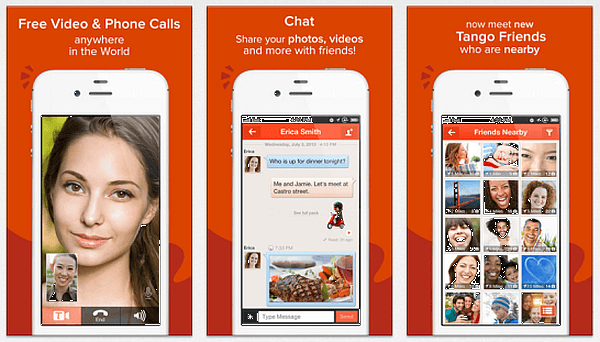 TANGO- free messages and video calls