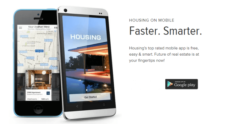Best Real Estate Search App | Housing.com Android App
