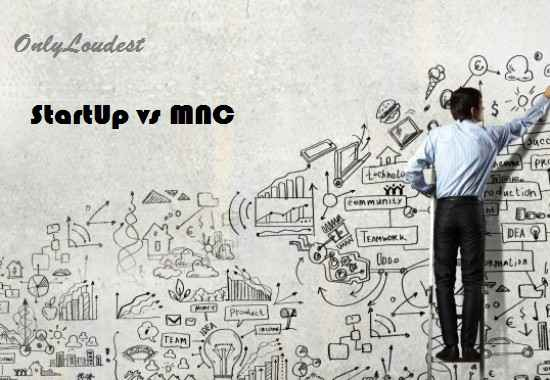 Differences Between Startups And MNC in (Pictures)
