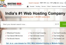 HostingRaja Web Hosting Company in India