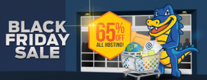 HostGator Black Friday 2017 Coupon : 80% Off *Grab It Fast*