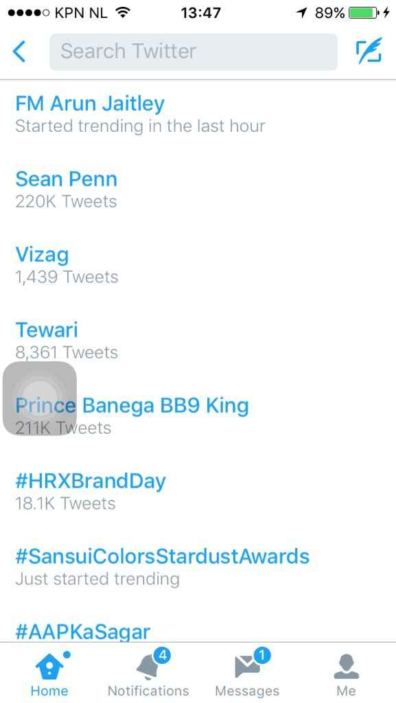 """Prince Banega BB9 King"""
