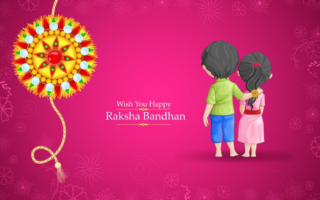 Wish-You-Happy-Raksha-Bandhan-Hd-Wallpaper