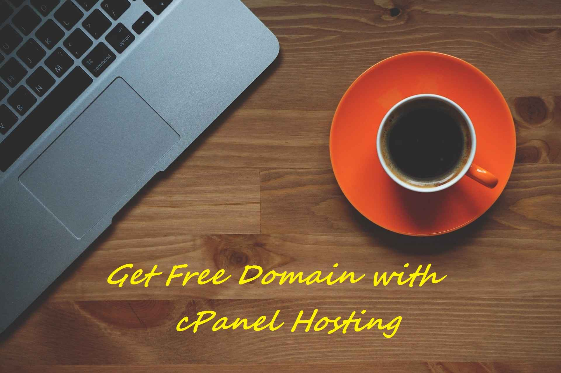 Giveaway : Get Free .in Domain + cPanel Hosting For 1 Year