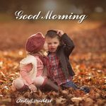 cute-little-couple-with-good-morning-wishes