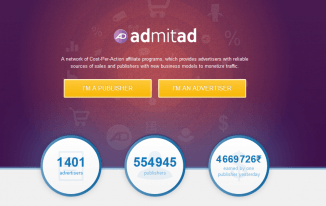 Take your Affiliate Marketing to next level with admitad CPA Network