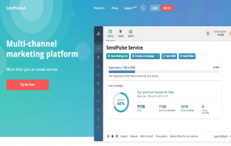 SendPulse Review: A Mailchimp Alternative