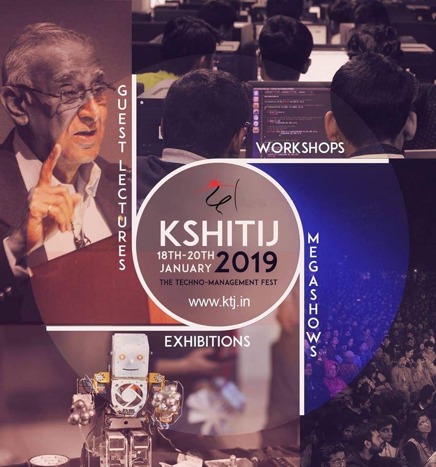 Kshitij 2019 - An IIT Kharagpur Techno-management fest