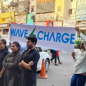 WAVE CHARGE : Hassle free phone charge Anywhere