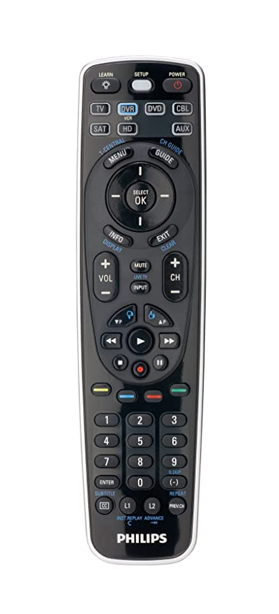 The List of Philips Universal Remote Codes & Features